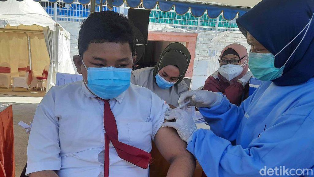 Kota Blitar Uji Coba PPKM Level 1, Ini Capaian Vaksinasinya