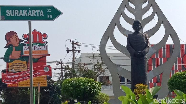 Patung Ki Narto Sabdo di Klaten