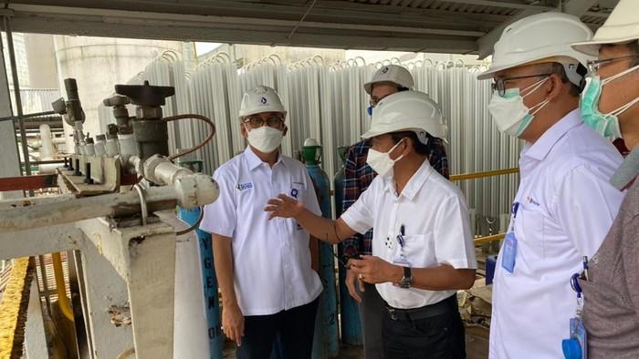 PT Pupuk Kalimantan Timur (PKT) ikut membantu penanganan COVID-19. Salah satunya dengan menambah ketersediaan oksigen medis.