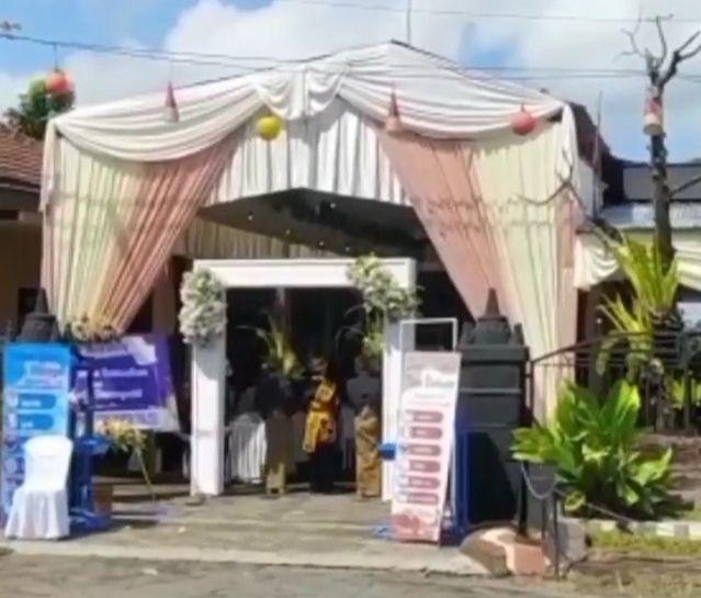 viral kepada desa di banyuwangi menggelar resepsi saat ppkm darurat