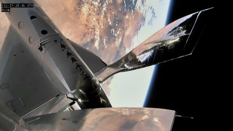 Virgin Galactics First Spaceflight on December 13th 2018