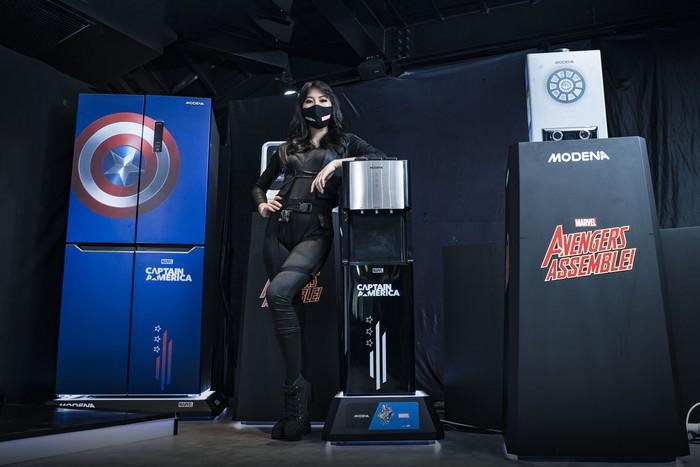 Kulkas dan Dispenser Kini Berhias Captain America hingga Iron Man