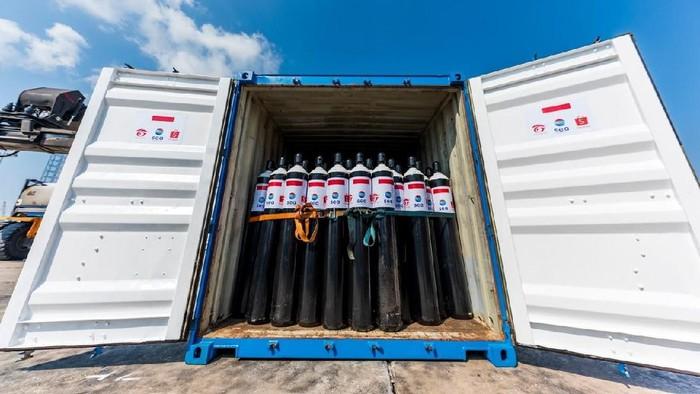 Bantuan 1.000 Tabung Oksigen untuk Indonesia dari Sea Group, Shopee dan Garena