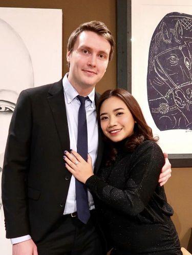 Foto pasangan Tamara dan Robert.