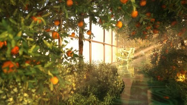 Dengan panjang 400 meter, G Train akan memiliki kebun sendiri di dalam gerbongnya. (Thierry Gaugain/CNN)