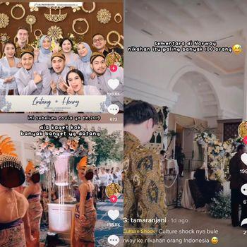 Kisah pasangan beda negara viral di TikTok.