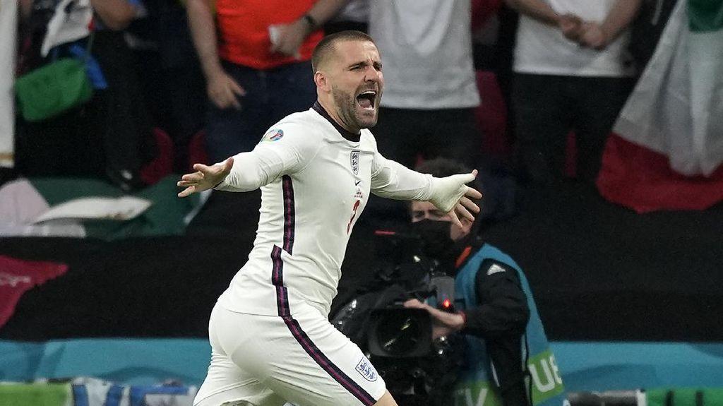 Bagi Roberto Carlos, Luke Shaw Pemain Terbaik di Euro 2020