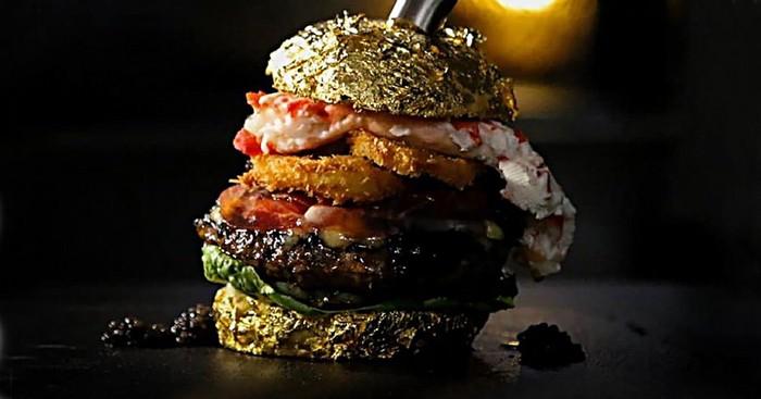 Mewah! Burger Termahal di Dunia Ini Harganya Rp 87 Juta