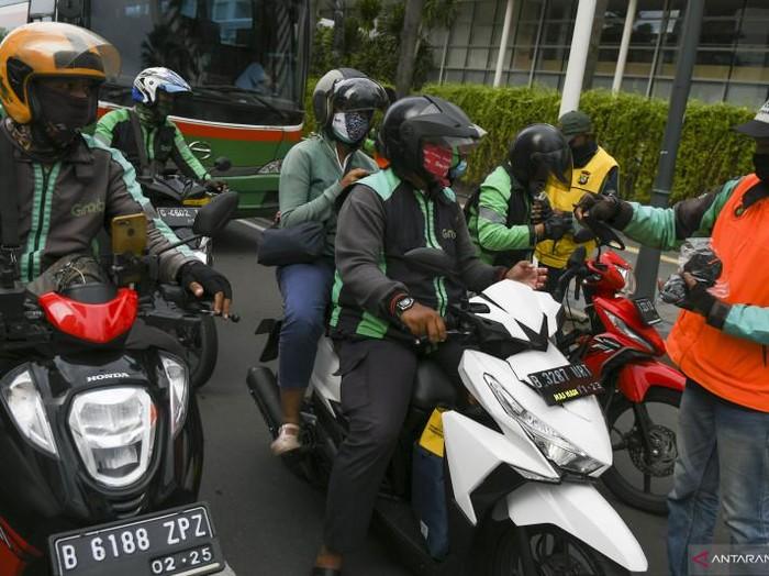 Ojek Online di tengah pembatasan PPKM Darurat Jakarta