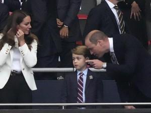 Inggris Kalah di Euro 2020, Wajah Sedih Pangeran George Jadi Viral