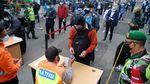 Pemeriksaan STRP di Stasiun Bogor Bikin Antrean Penumpang Mengular
