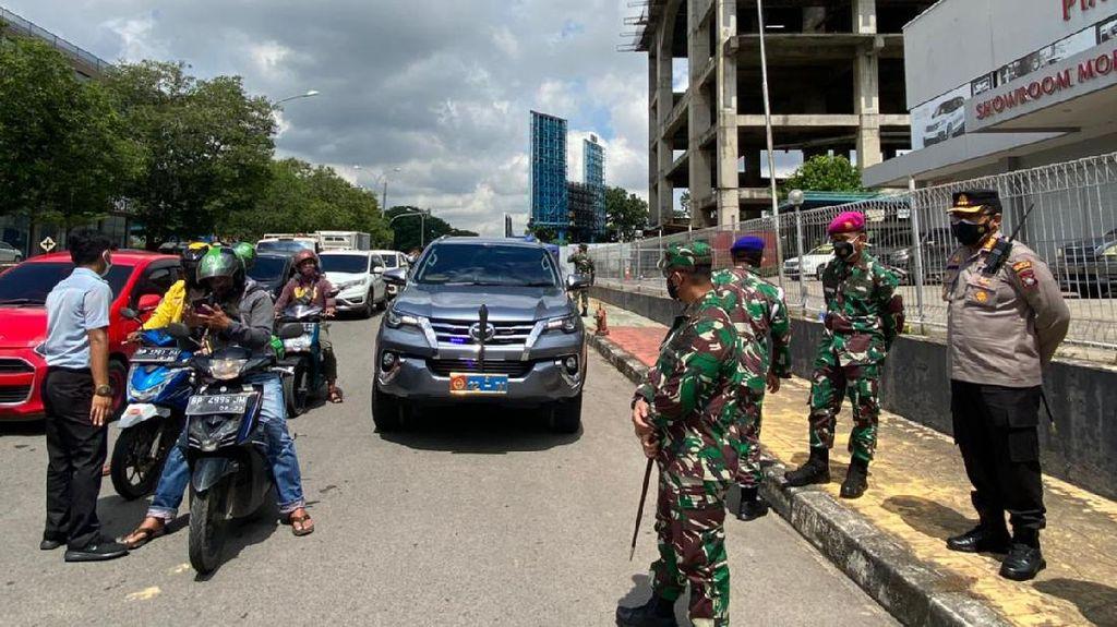 Hari Pertama PPKM Darurat di Batam, Seribu Lebih Kendaraan Diputar Balik