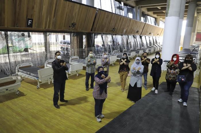 Punya Kapasitas 1.000 Bed, RS Lapangan Tembak Ideal Rawat Pasien Corona