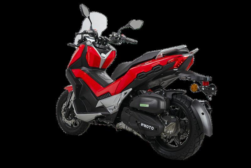 Skutik adventure Wmoto Xtreme 150i