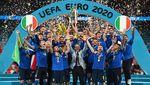 Foto Populer Sepekan: Italia Juara Euro 2020-Vaksin Berbayar Dibatalkan