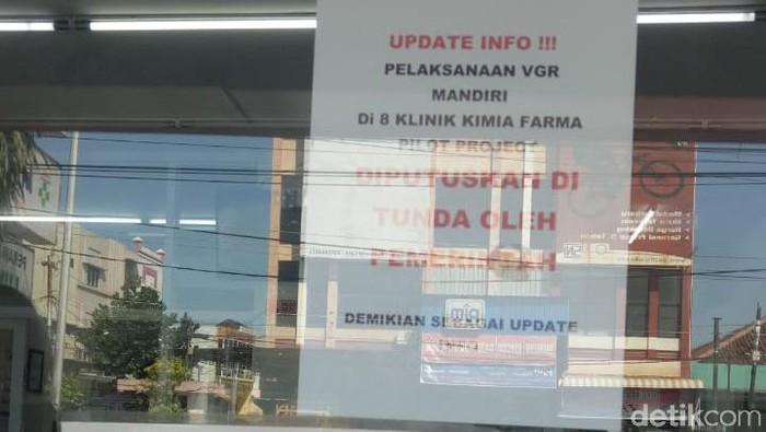 Vaksin berbayar di Kimia Farma Semarang
