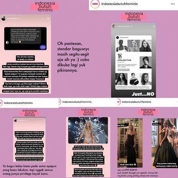Viral kritik soal bentuk tubuh model Victoria Secret.