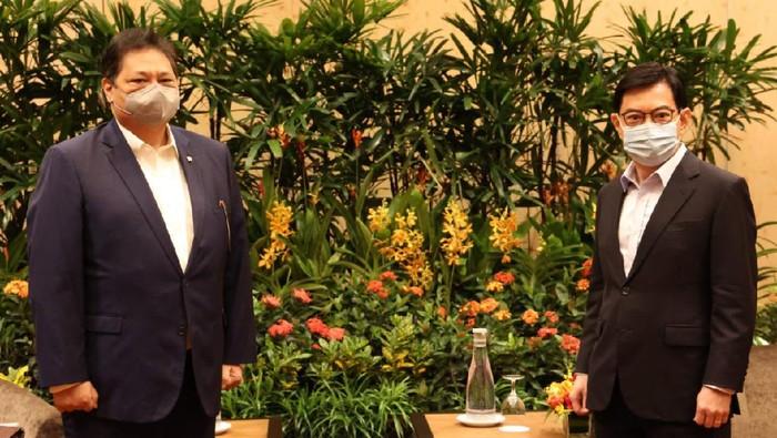 Airlangga Dijadwalkan Bertemu PM Lee Hsien di Singapura, Bahas Apa?