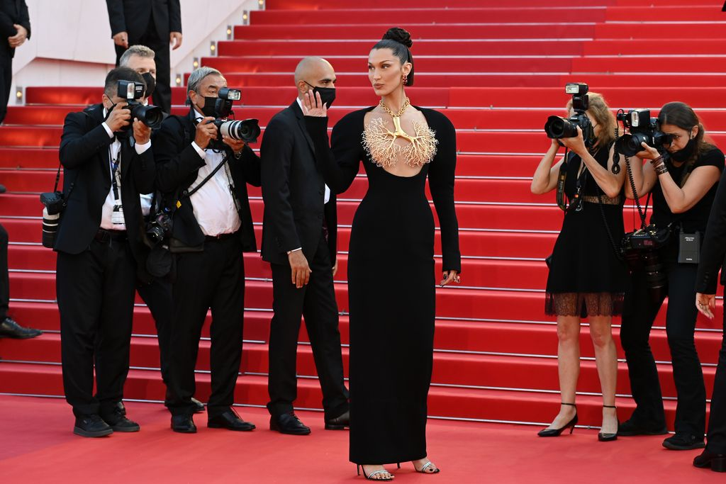 CANNES, FRANCE - JULY 11: Bella Hadid attends the