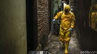 Disinfeksi Corona Sasar Rumah Warga yang Positif