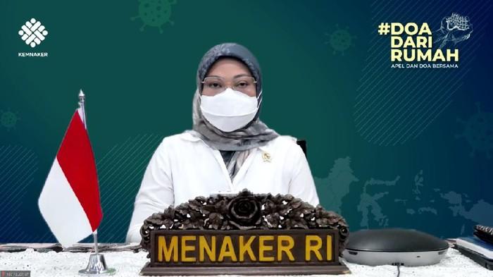 Menteri Ketenagakerjaan Ida Fauziyah mengajak masyarakat untuk bersama-sama mengatasi pandemi COVID-19 di Tanah Air. Ia menyebut selain ikhtiar dengan berbagai usaha lahiriah yang telah dilakukan, juga wajib melakukan ikhtiar batiniah seluruh pegawai.