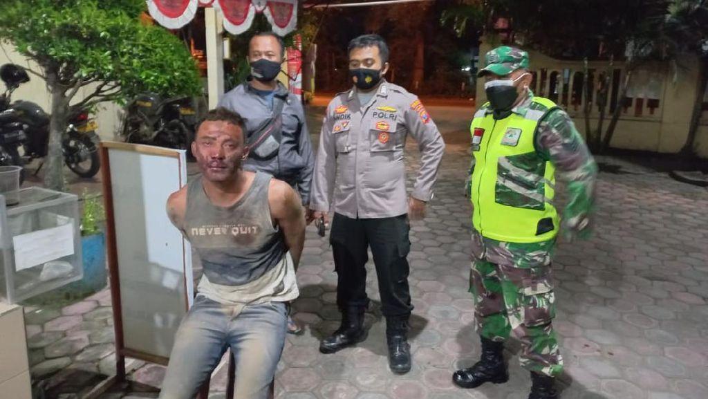 Pemuda Mabuk di Tulungagung Nyaris Bunuh Tiga Orang dengan Pisau