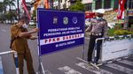 Melihat Pelaksanaan PPKM Darurat di Medan