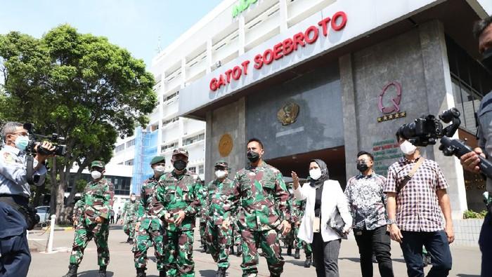 RS lapangan di RSPAD Gatot Soebroto mulai beroperasi rawat pasien Covid-19