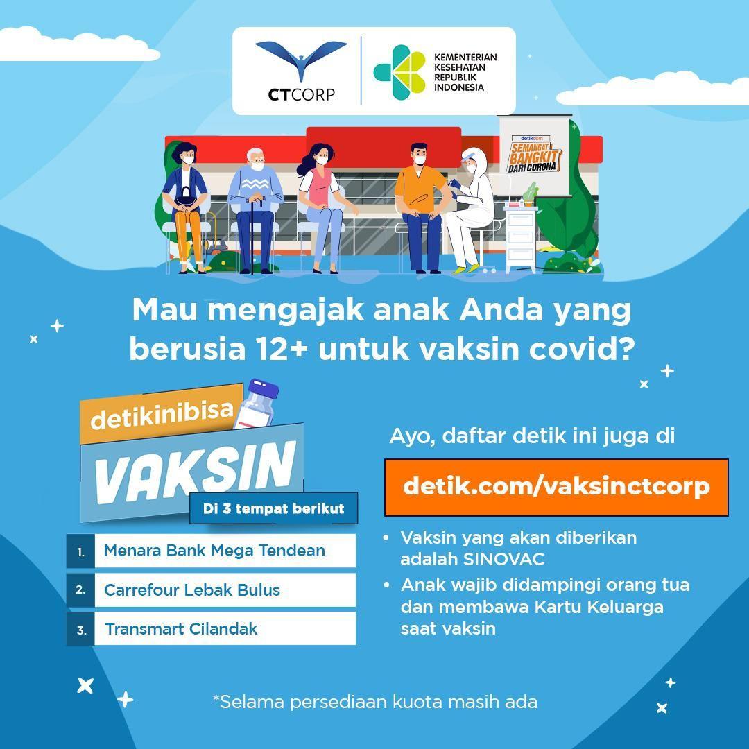 Vaksin CT Corp 12+