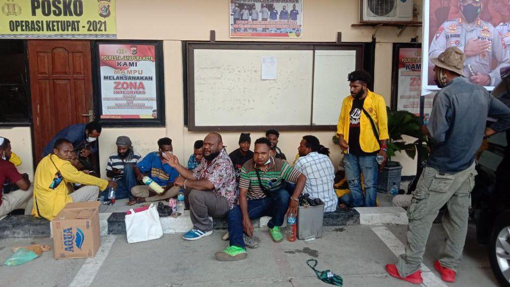 Demo Tolak Otsus Jilid II, 23 Mahasiswa di Jayapura Papua Ditangkap