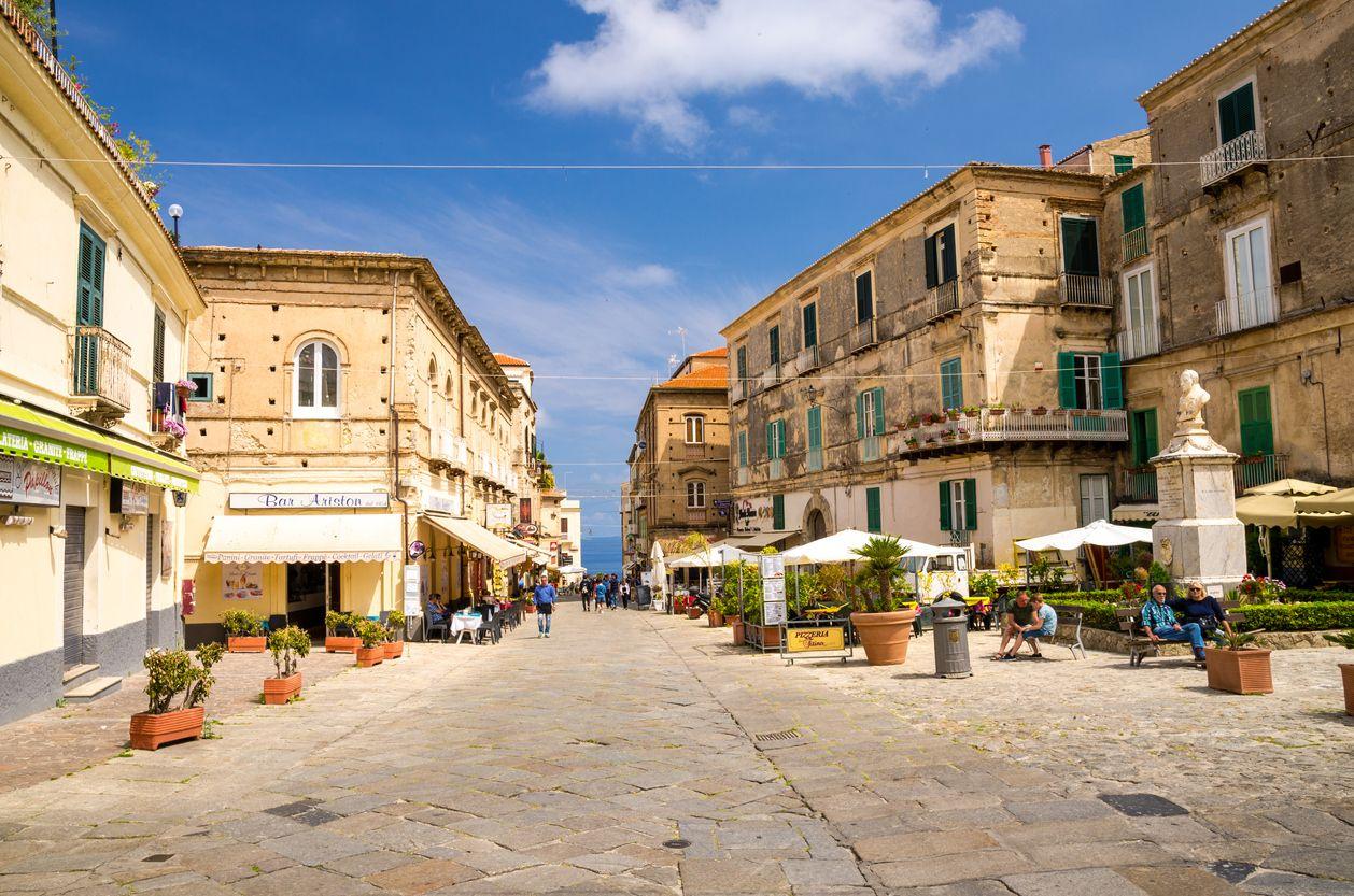 Calabria en el sur de Italia