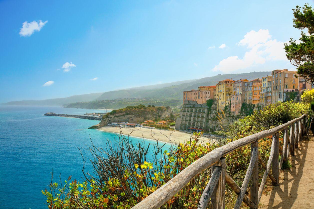 Calabria di Italia Selatan