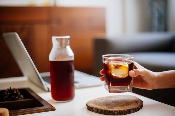 Cara membuat kopi cold brew sederhana