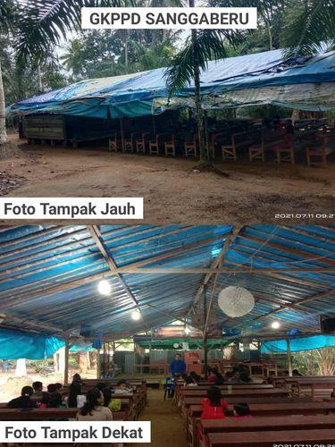 Gereja beratap terpal di Aceh Singkil (Dokumen Forum Cinta Damai Aceh Singkil (Forcidas))