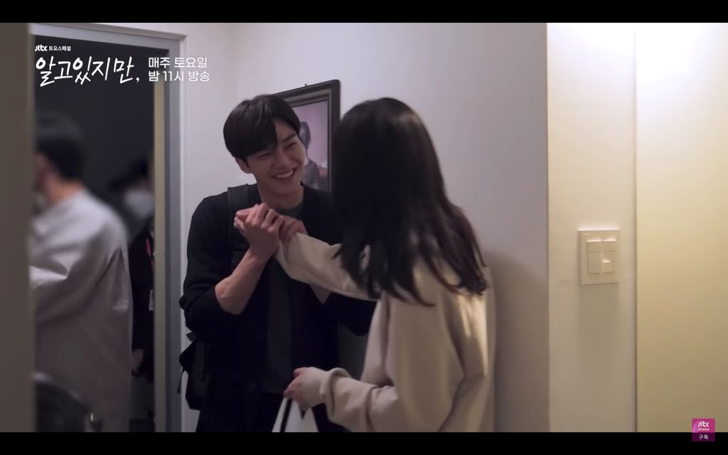 Kemesraan Song Kang dan Han So Hee di Balik Layar