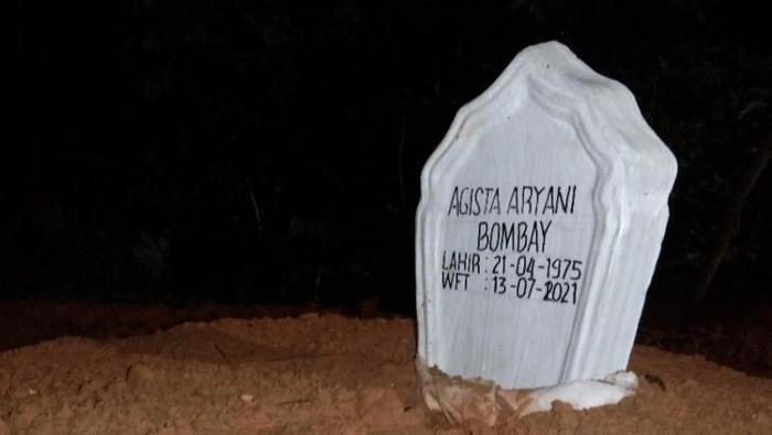 Makam istri Gubernur Sultra Agista Ariany (Antara)