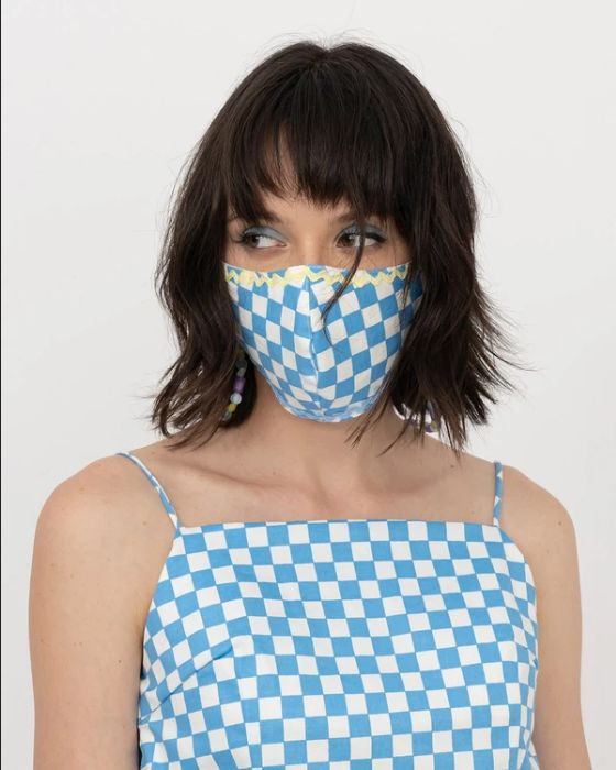 masker kain untuk double masking