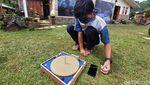 Menengok Proses Penentuan Arah Kiblat di Lembang
