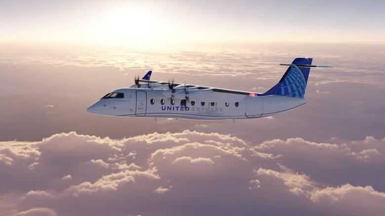 Pesawat listrik ES-19 United Airlines