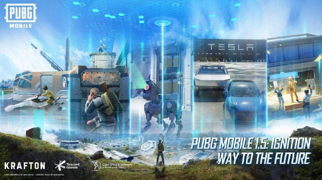 PUBGMobile 1.5, Dari Rich Brian, Tesla, Sampai Pulsa Rp 2 Miliar