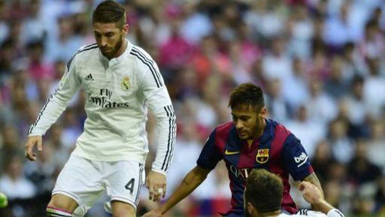 Foto: Sergio Ramos-Neymar Dulu Lawan, Kini Rekan