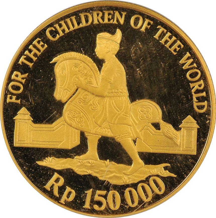 Sudah Tahu RI Punya Uang Koin Emas Rp 150.000? Ini Faktanya