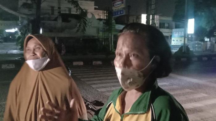 Warga di Medan mengeluhkan listrik padam 6 jam (Ahmad Arfah-detikcom)