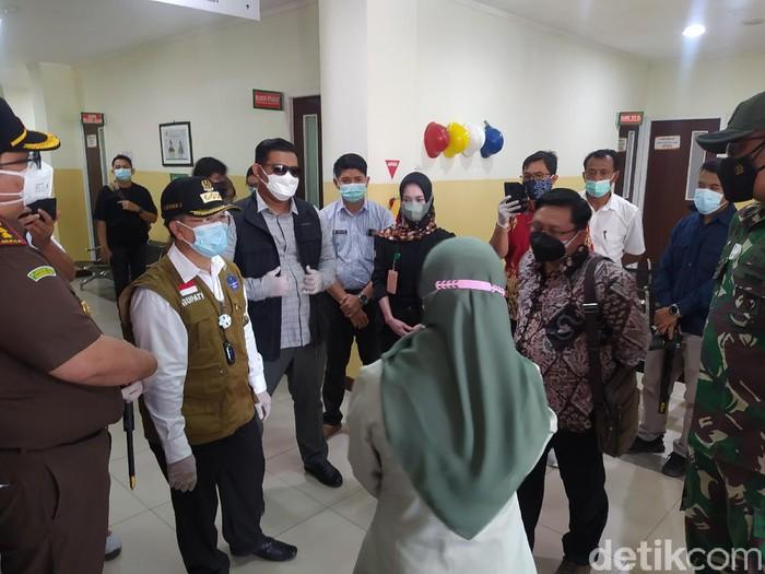 Bupati Cianjur geram pelayanan di RS Dr Hafidz buruk