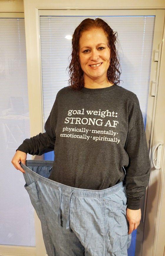 Keren! Wanita Ini Berhasil Turun BB 71 Kg Berkat Diet Tinggi Protein