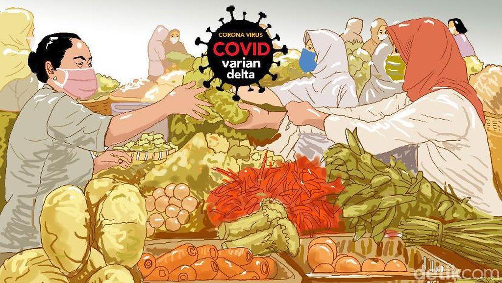 Pedagang Ngeluh ke DPR, Ada Supermarket Dekat Pasar