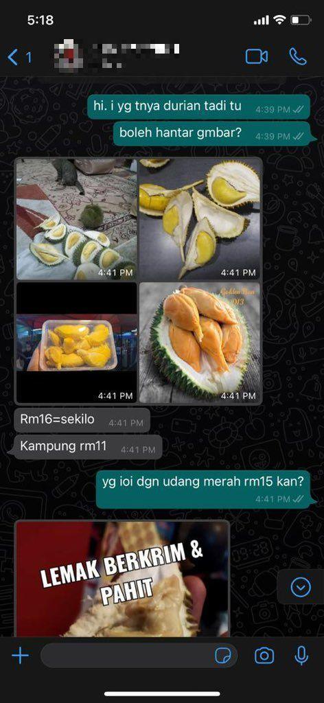 Kacau! Beli Durian Online, Wanita Ini Malah Disangka PSK Oleh Penjual
