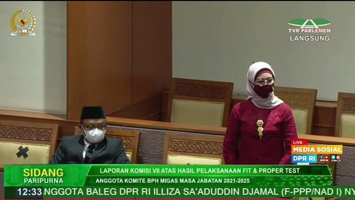 Kepala BPH Migas Erika Retnowati