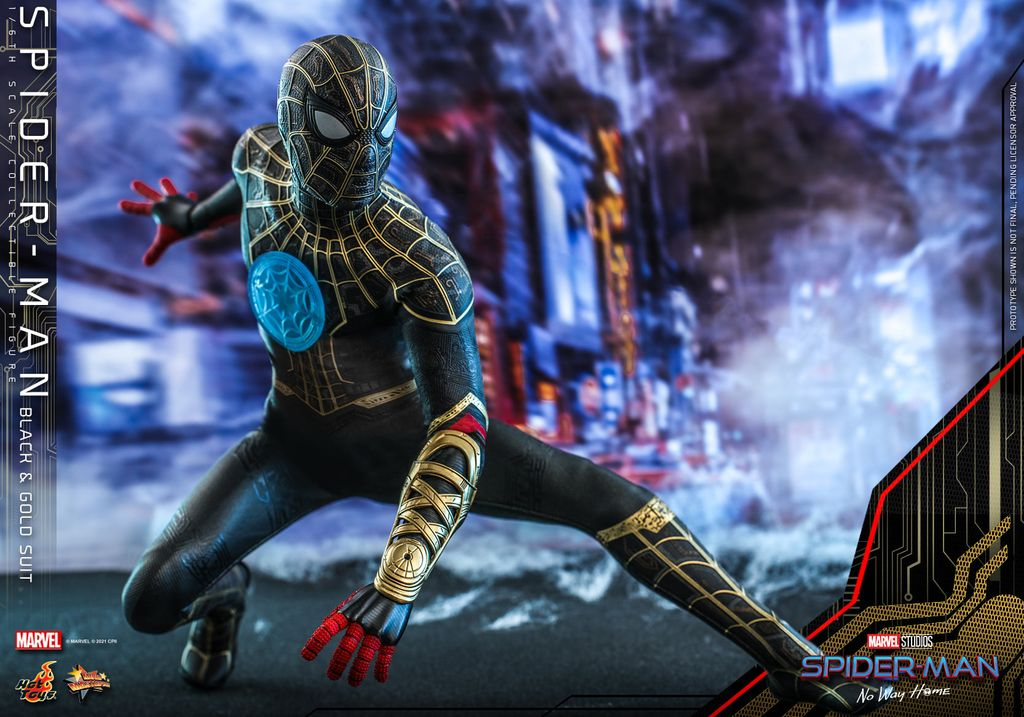 Kostum baru Spider-Man terungkap lewat mainan action figure.