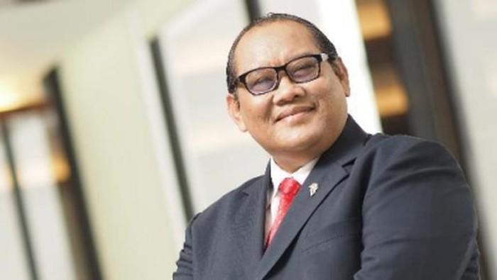 Mantan Menteri BUMN Sugiharto (Ist Twitter/@SGHSpeaking)